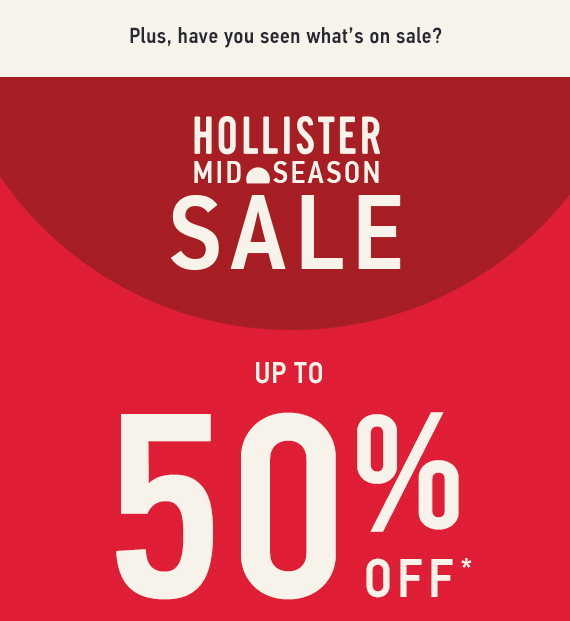 Sale up to 50% Off*
