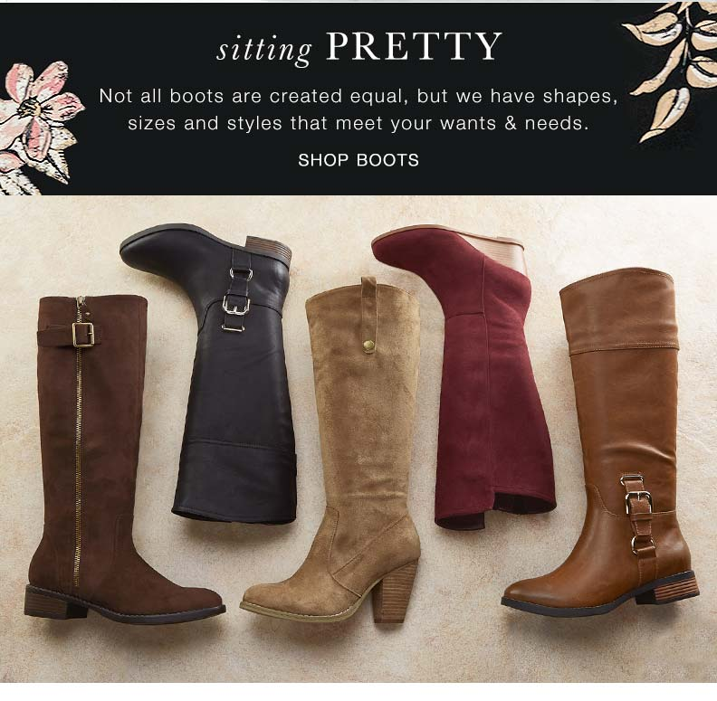 Bombers: Shop boots
