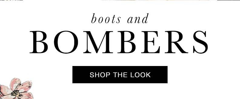 Bombers: Shop the look