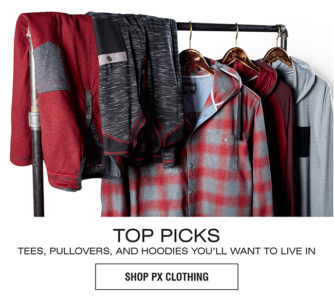 PX CLOTHING TOPS | TOP PICKS