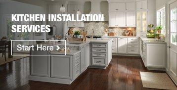 Kitchen Installation | Start Here >