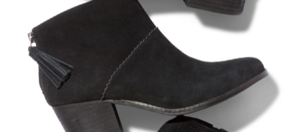 Black Suede Women's Leila Booties