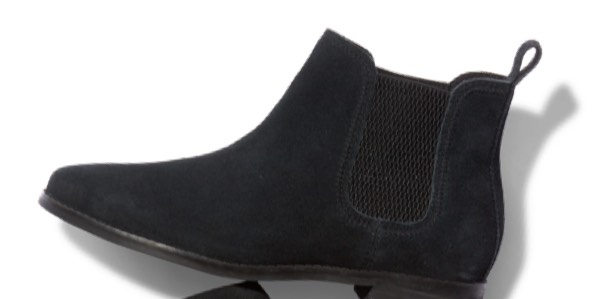 Black Suede Women's Ella Booties
