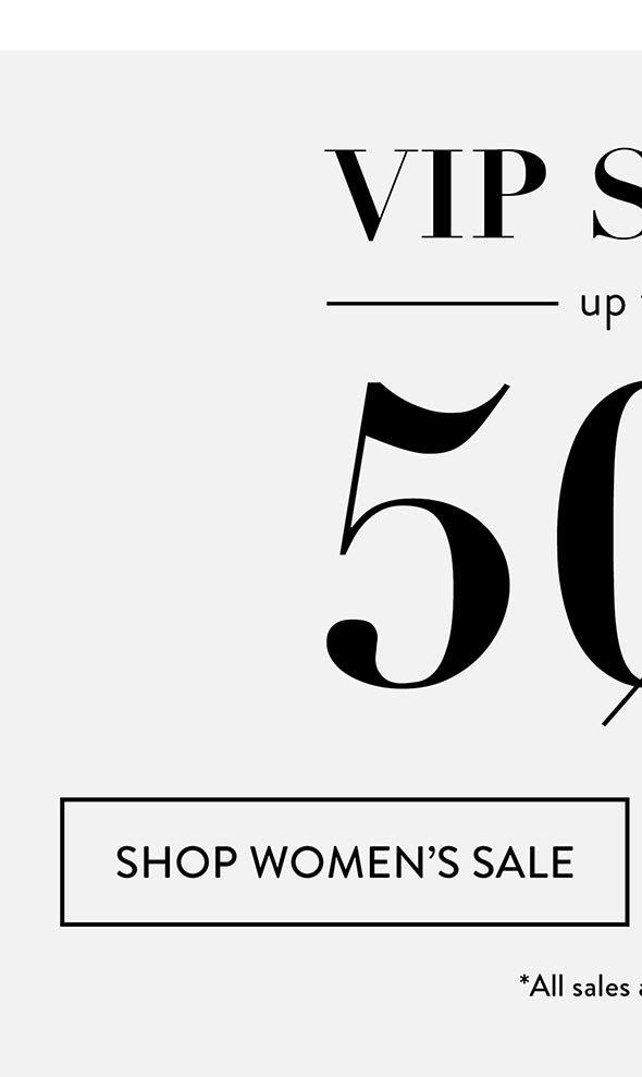 Women's VIP SALE