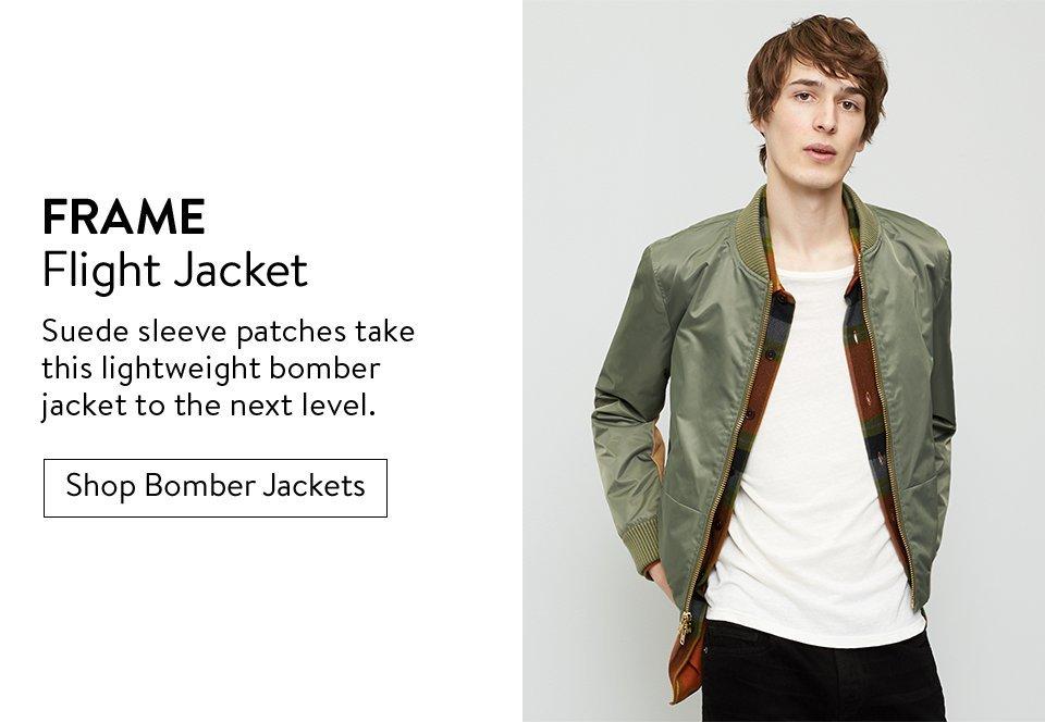 FRAME Flight Jacket - Shop Bomber Jackets
