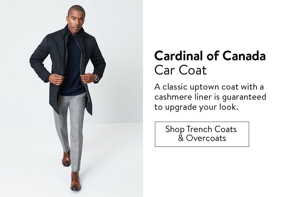 Cardinal of Canada Car Coat  - Shop Trench Coats & Overcoats