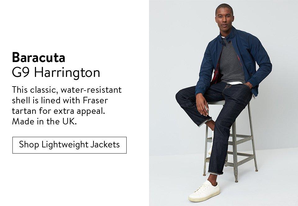 Baracuta G9 Harrington - Shop Lightweight Jackets
