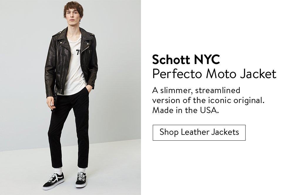 Schott NYC Perfecto Moto Jacket - Shop Leather Jackets