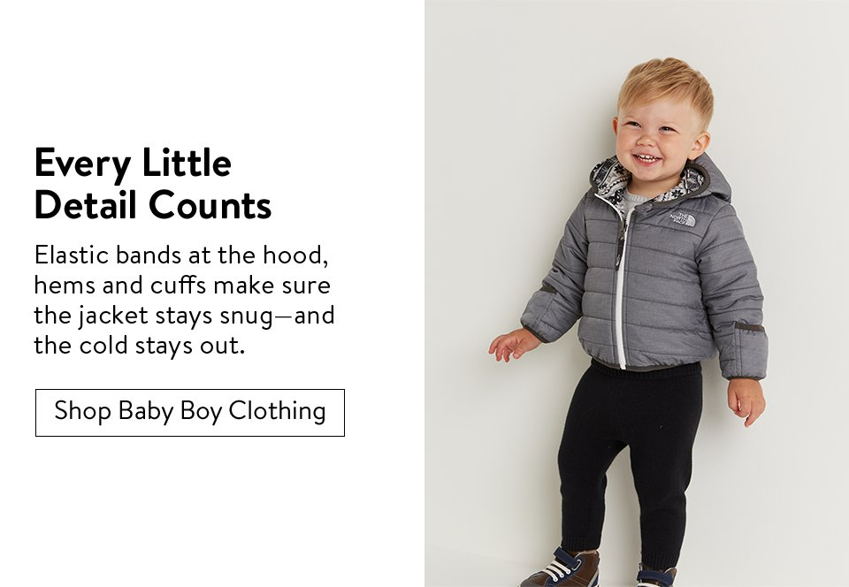 Every Little Detail Counts | Shop Baby Boy Clothing