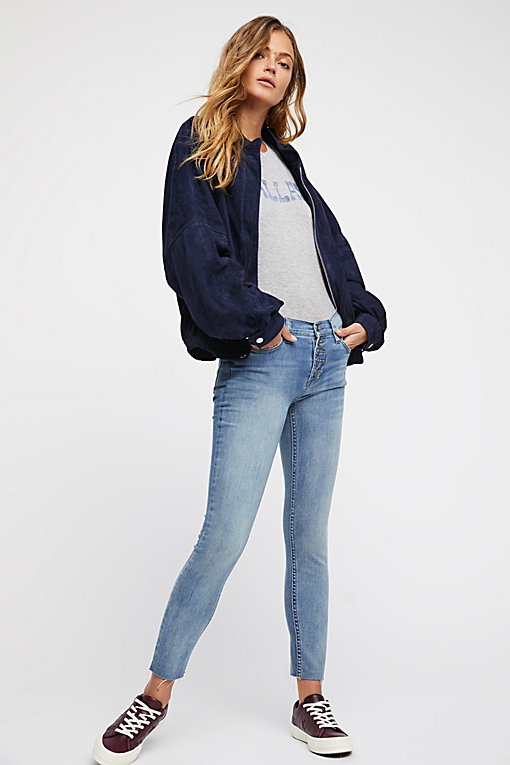 Reagan Button Front Jean