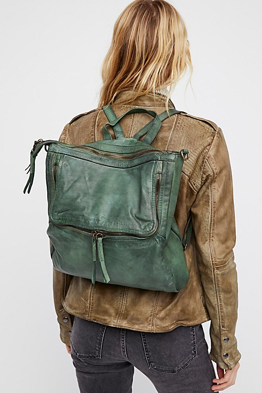 Loved Leather Messenger