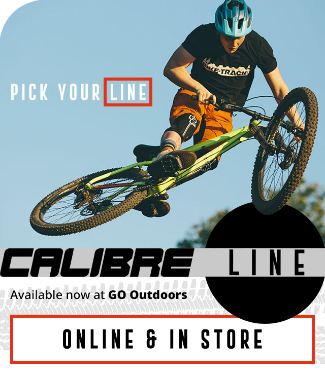 Calibre Line 10 - available now at GO Outdoors