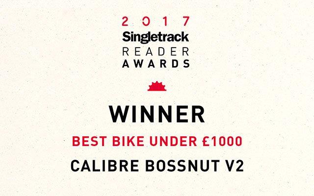 2017 Singletrack Reader Awards Winner