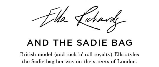 Ella Richardson and the Sadie bag