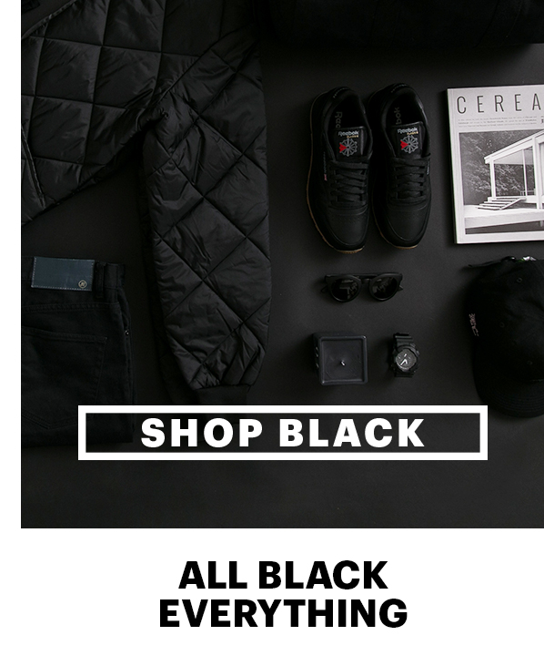 Shop Black | All Black Everything