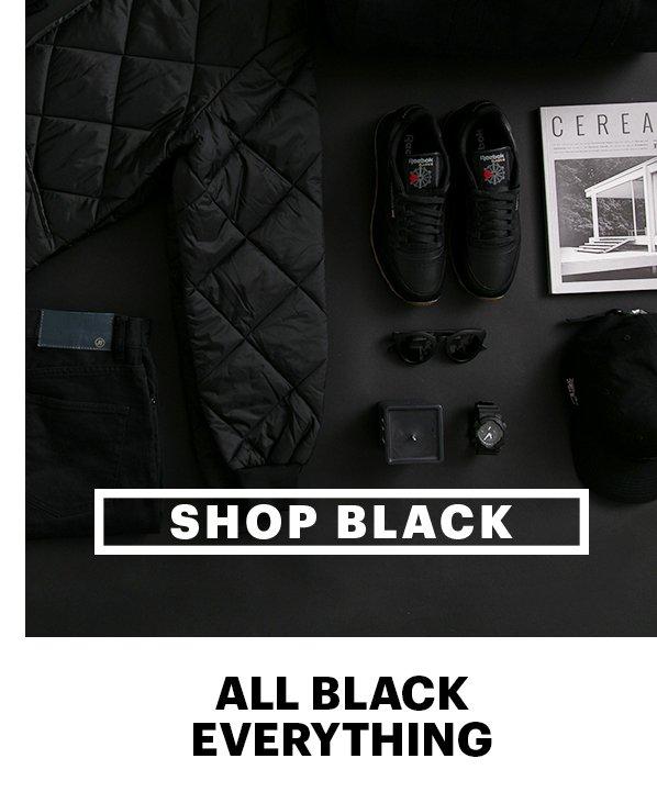 Shop Black | All Black Everything