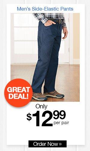 DUKE Side-Elastic Carpenter Pants