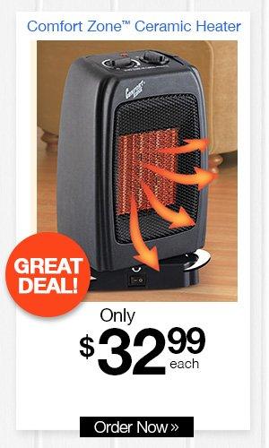 Comfort Zone? Ceramic Heater