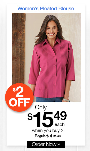 American Sweetheart Pleated Blouse