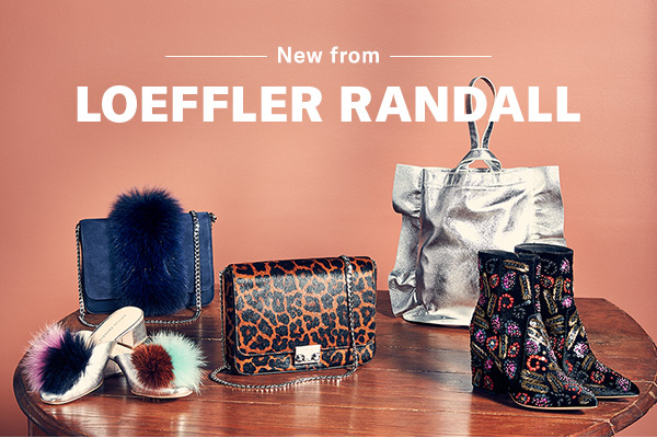 New from: Loeffler Randall - Outfit need zhooshing? Look no further than the NYC label's latest smart, eclectic accents.