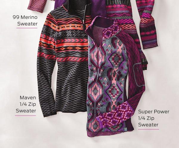 Shop Sweaters >