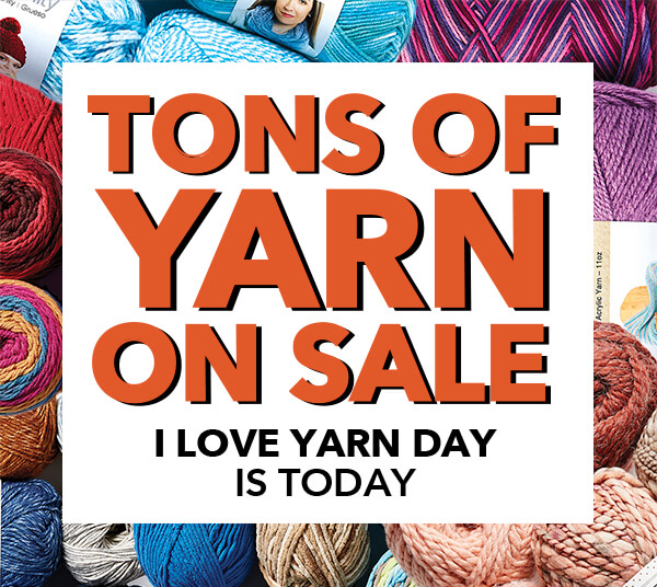 I Love Yarn Day.