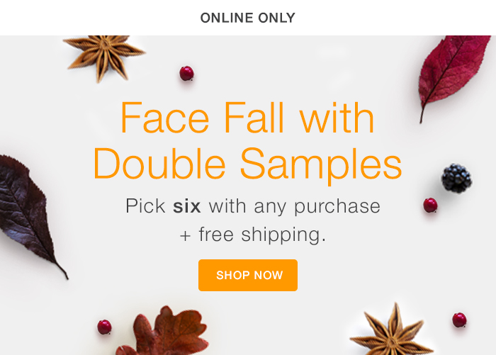 Fall for More Samples