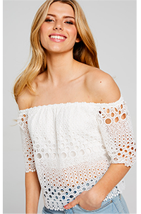 BELLE LACE TOP