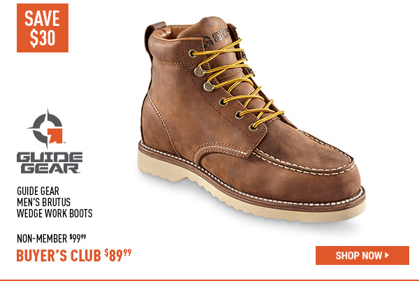 Guide Gear Men's Brutus Wedge Work Boots