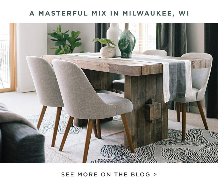 A MASTERFUL MIX IN MILWAUKEE, WI. SEE MORE ON THE BLOG