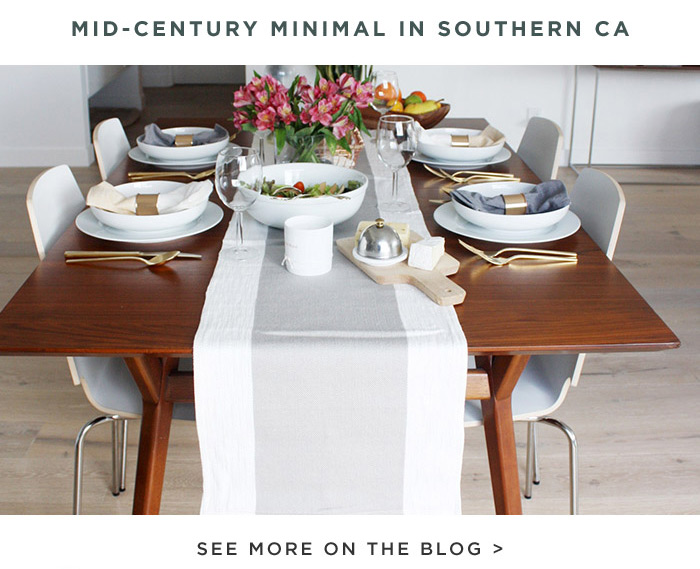 MID-CENTURY MINIMAL IN SOUTHERN CA. SEE MORE ON THE BLOG