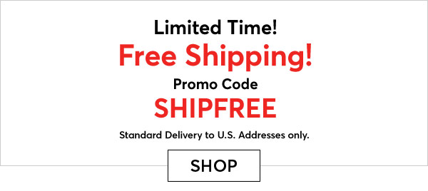 Get Free Shipping with Code