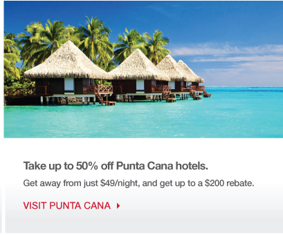 Take up to 50% off Punta Cana hotels