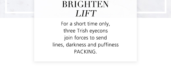 To send lines, darkness and puffiness PACKING.
