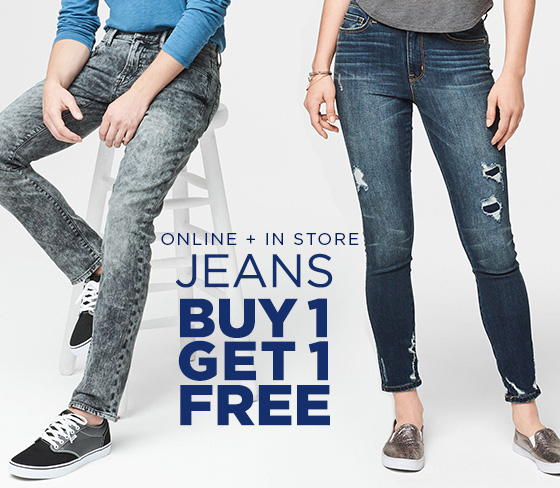 Buy One Get One Free Jeans Shop Girls