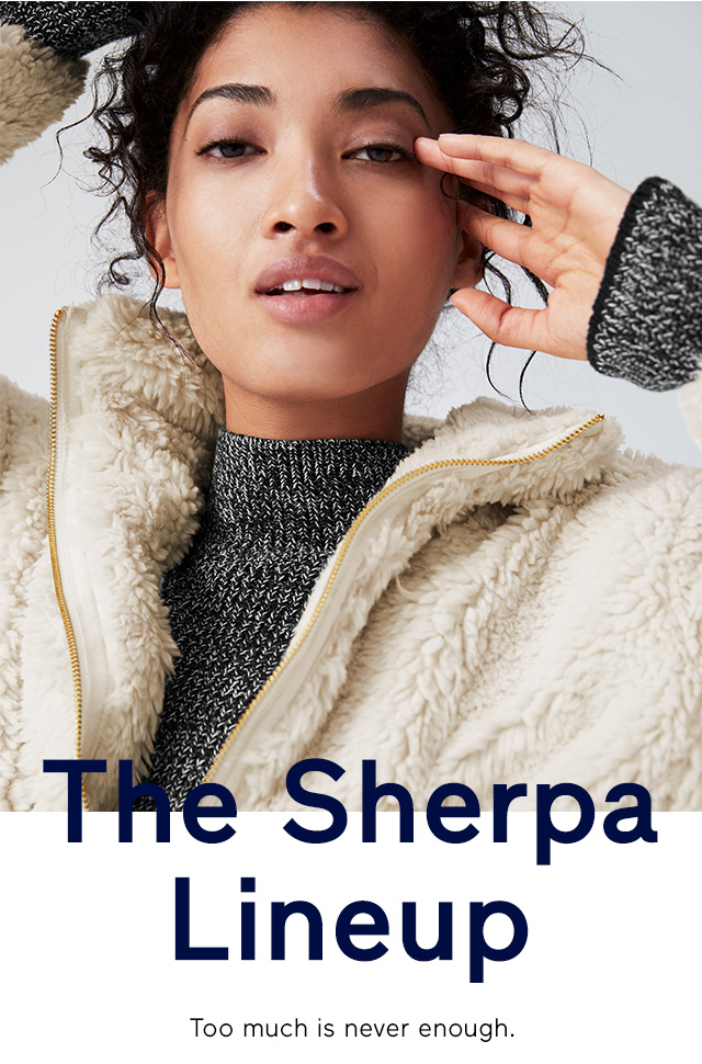 The Sherpa Lineup