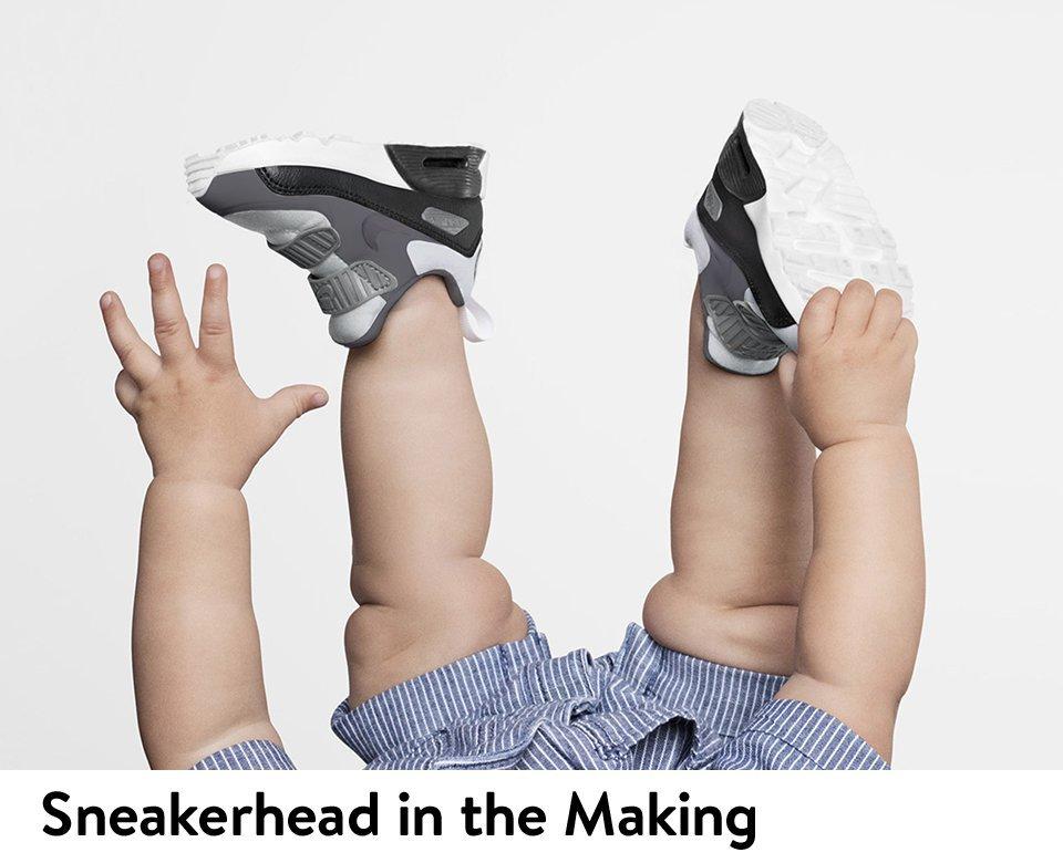 Sneakerhead in the Making