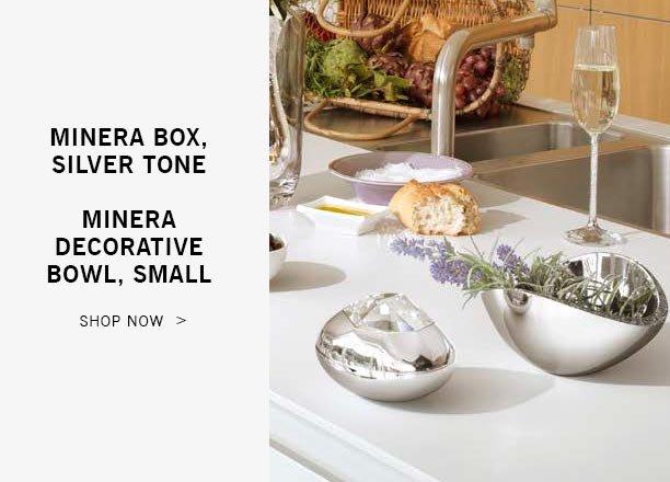 Minera Box, Silver Tone