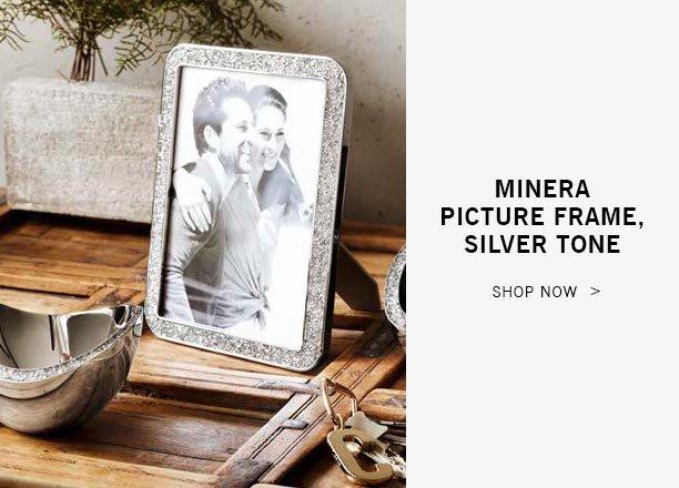 Minera Picture Frame, Silver Tone