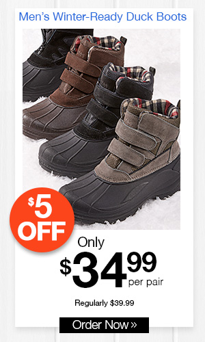 Totes Winter-Ready Duck Boots