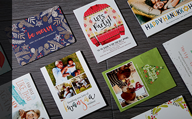 Custom Holiday Cards and Invitations