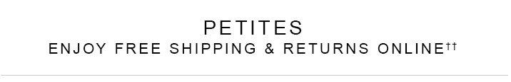 Shop Petites