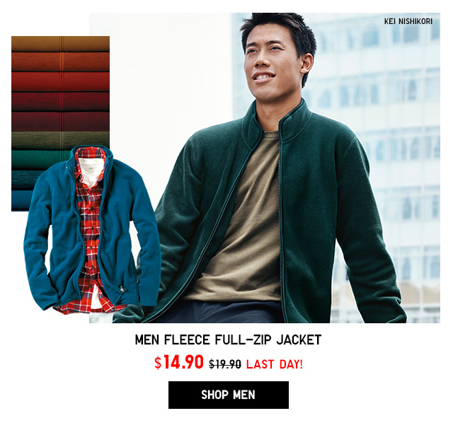 Fleece Jacket NOW $14.90 - Shop Men