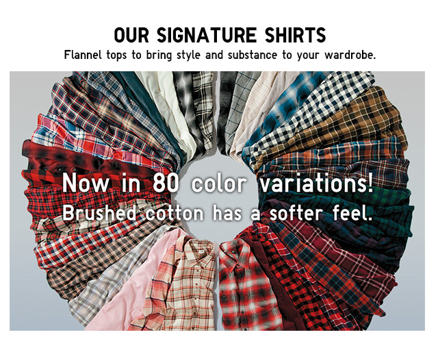 FLANNEL - Our signature shirts - Shop Now