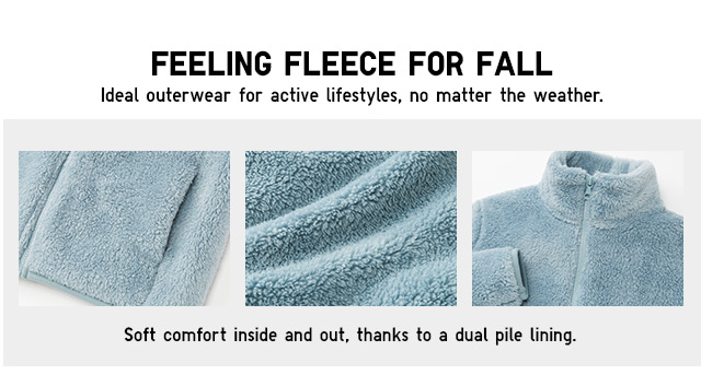 FEELING FLEECE FOR FALL - Shop Women