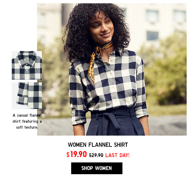 Flannel Shirt NOW $19.90 - Shop Women