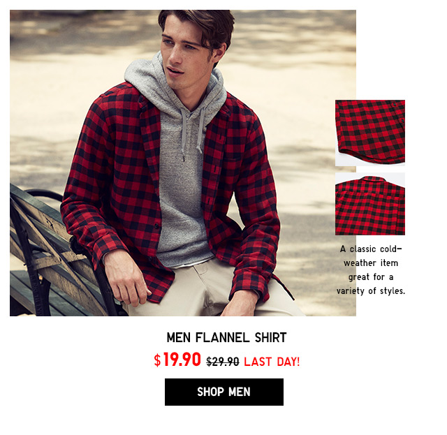 Flannel Shirt NOW $19.90 - Shop Men
