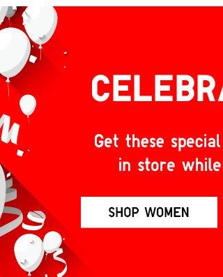 Celebrate U - Shop Women