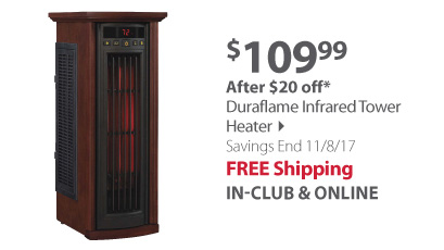 Duraflame Infrared Tower Heater