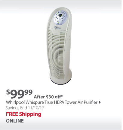 Whirlpool Tower Air Purifier